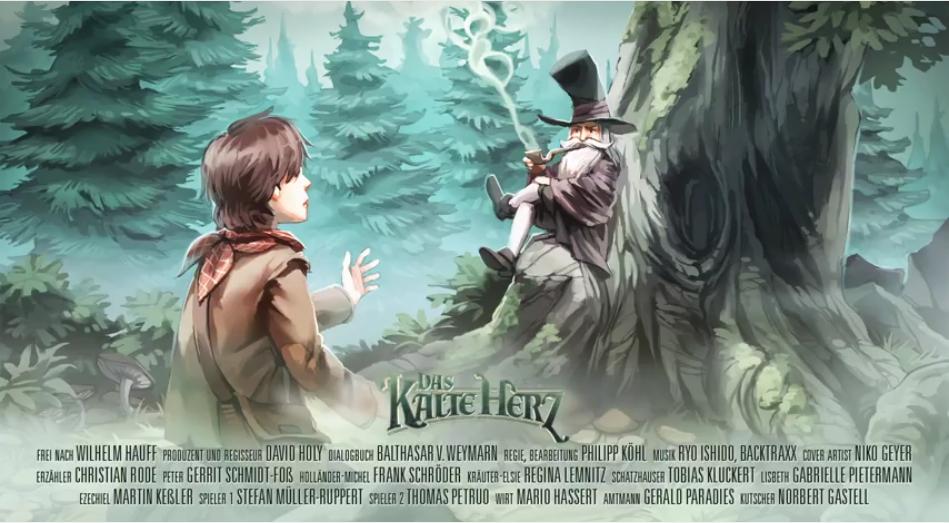 Jetzt kostenlos anhören: Das Kalte Herz nach Wilhelm Hauff