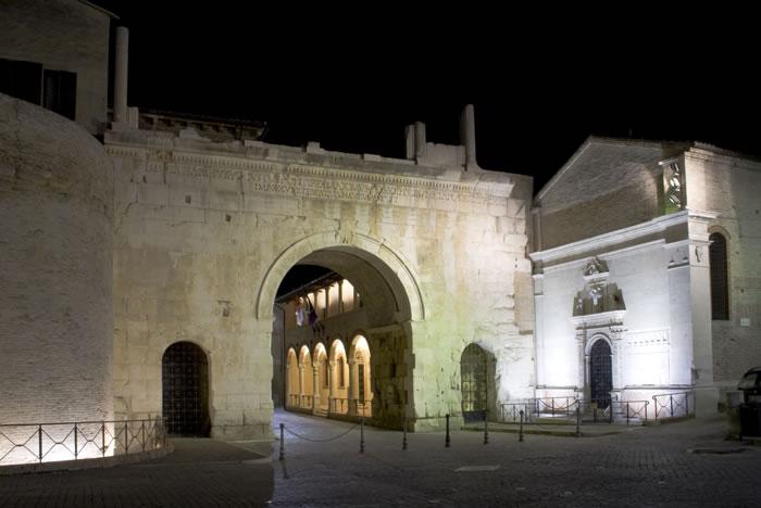 Augustusbogen in Fano