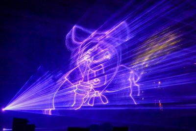 Lasershow Stadtgrabenfest