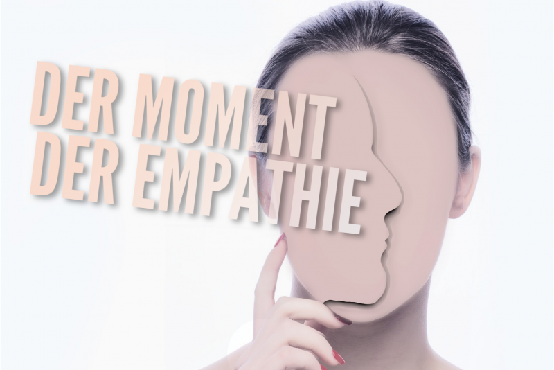 Der Moment der Empathie (Illustration)