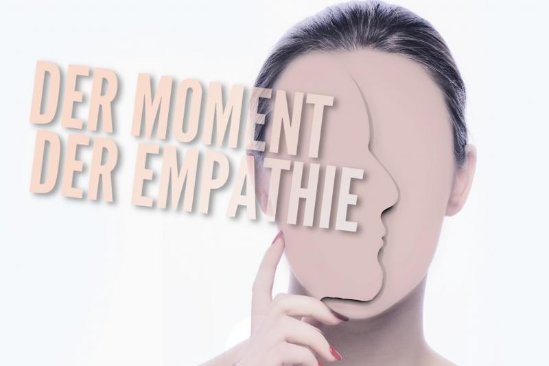 Der Moment der Empathie (Illustration)